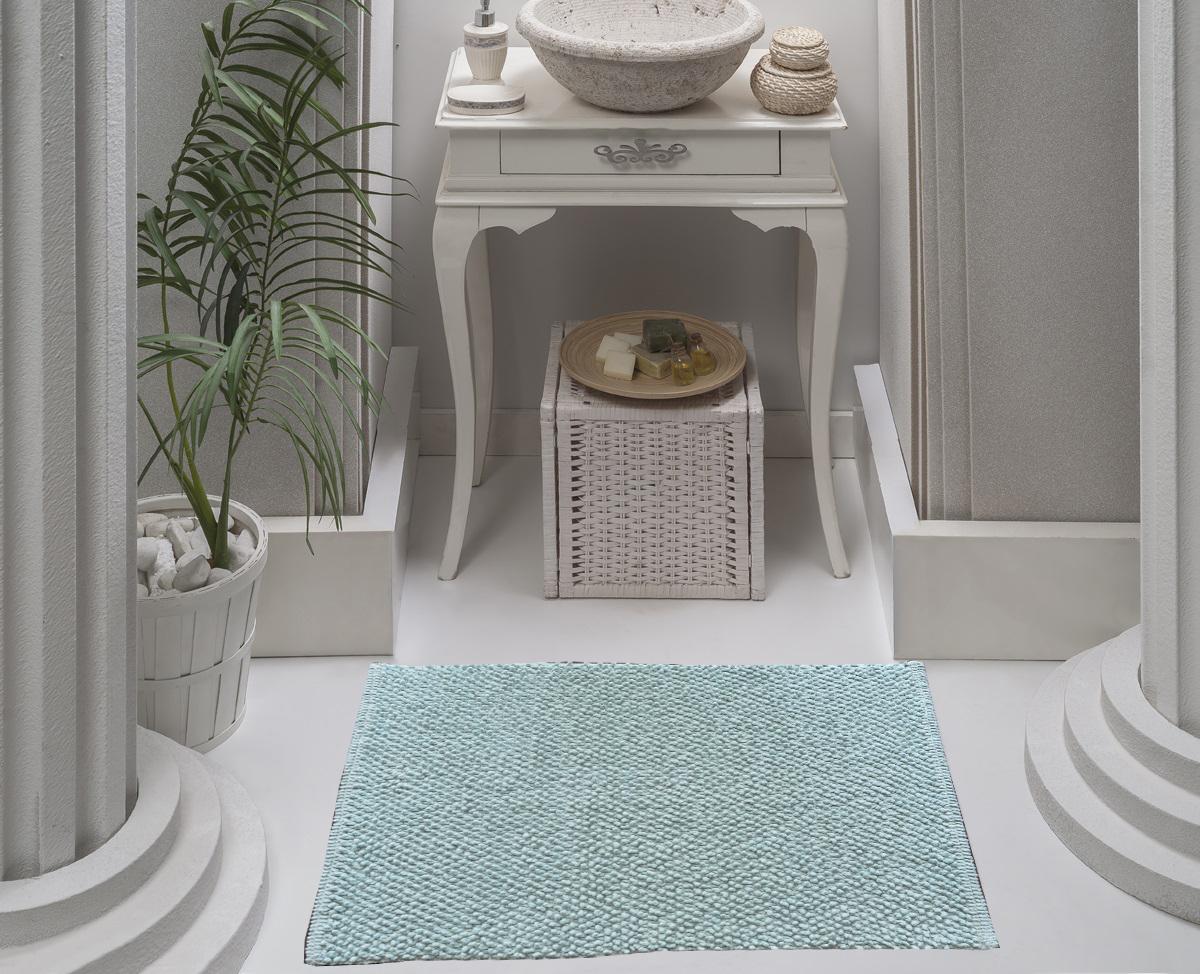 Коврик для ванной Karna Modalin. Alven, цвет: ментоловый, 50 х 70 см5034/CHAR006