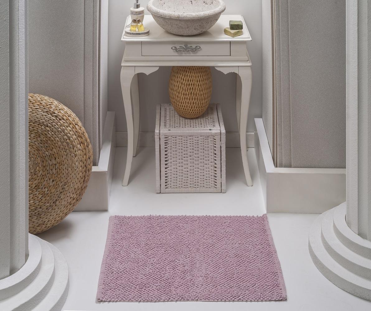 Коврик для ванной Karna Modalin. Alven, цвет: пудровый, 50 х 70 см5034/CHAR007