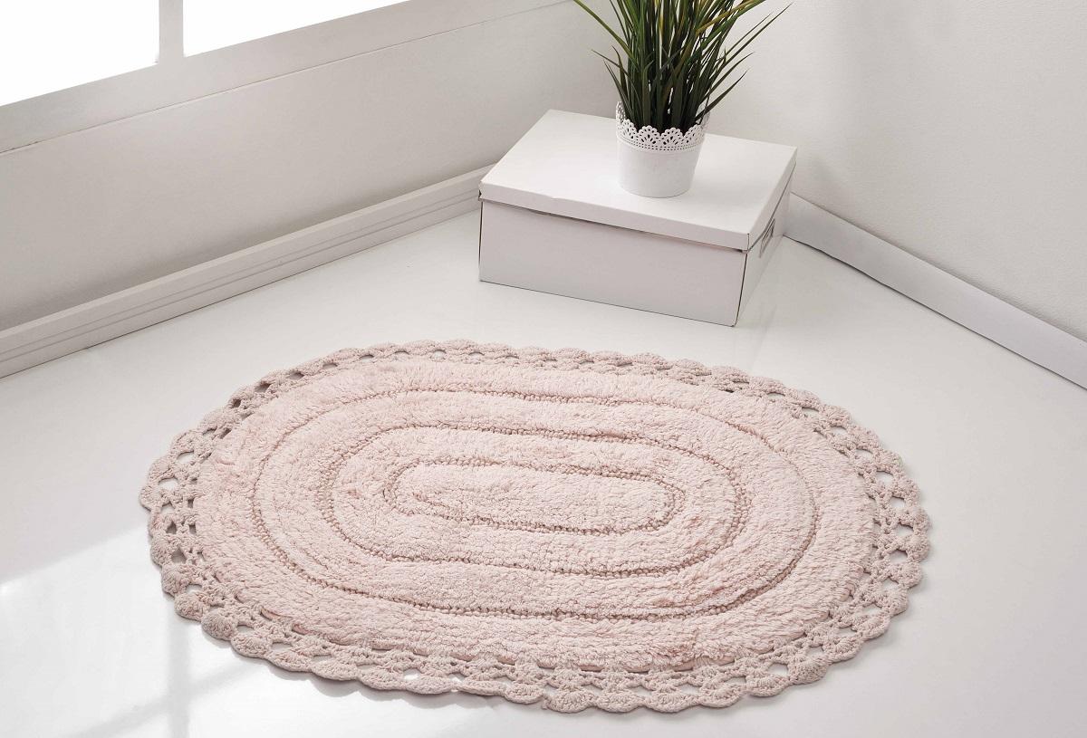 Коврик для ванной Karna Modalin. Yana, цвет: розовый, 50 х 70 см5087/CHAR006
