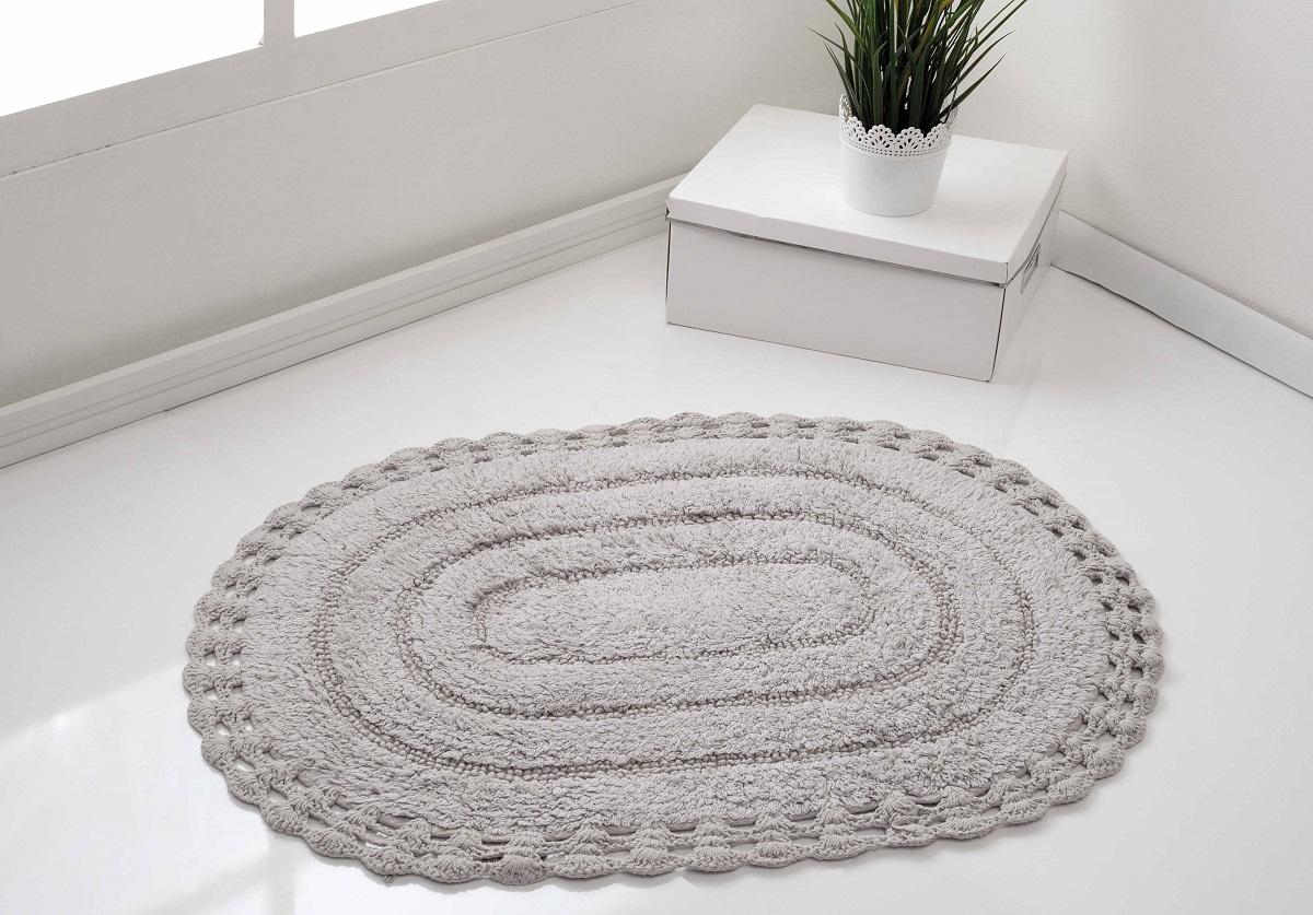 Коврик для ванной Karna Modalin. Yana, цвет: серый, 50 х 70 см5087/CHAR008