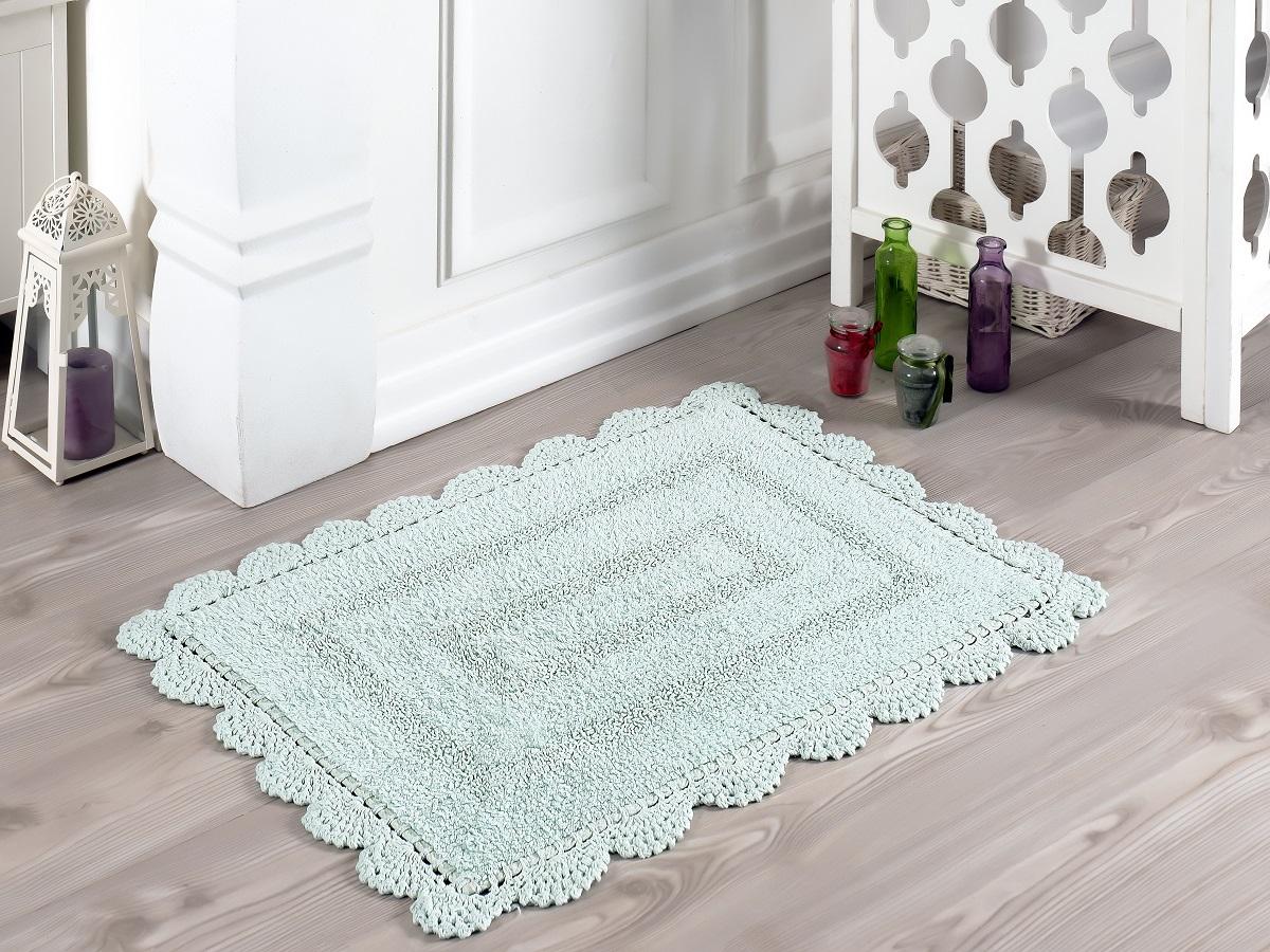 Коврик для ванной Karna Modalin. Evora, цвет: светло-зеленый, 50 х 70 см5090/CHAR006
