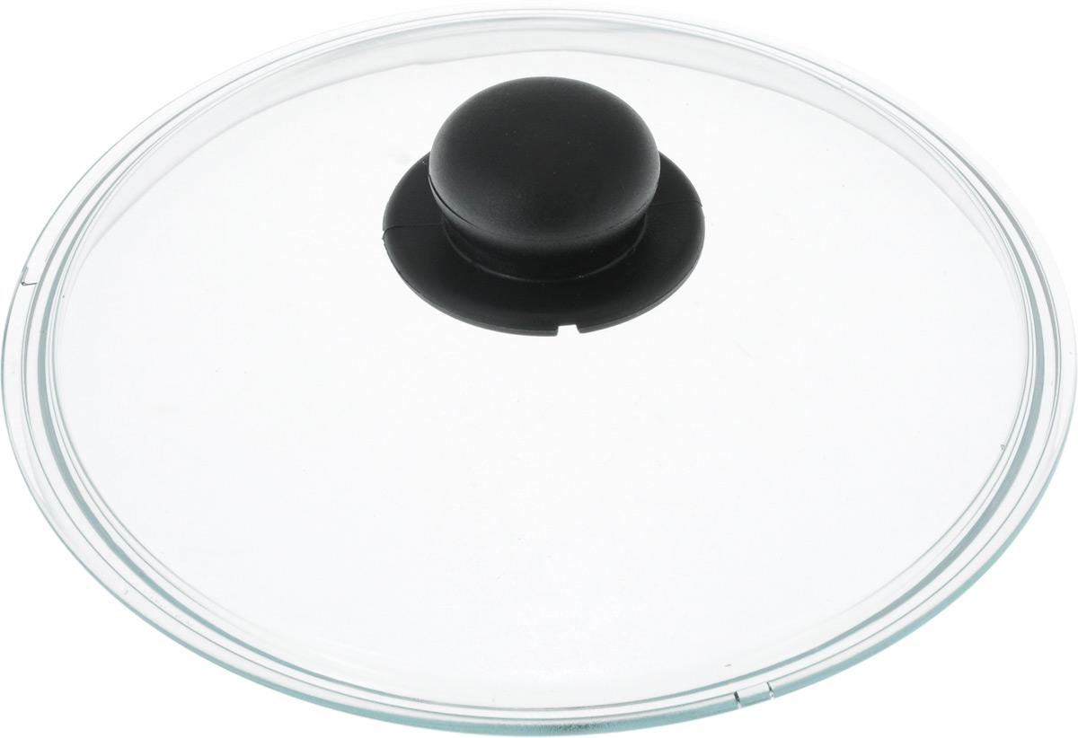 Крышка Ballarini. Диаметр 24 смCM000001328Крышка Ballarini изготовлена из жаропрочного стекла с пластиковой ручкой. Изделие удобно в использовании и позволяет контролировать процесс приготовления пищи.
