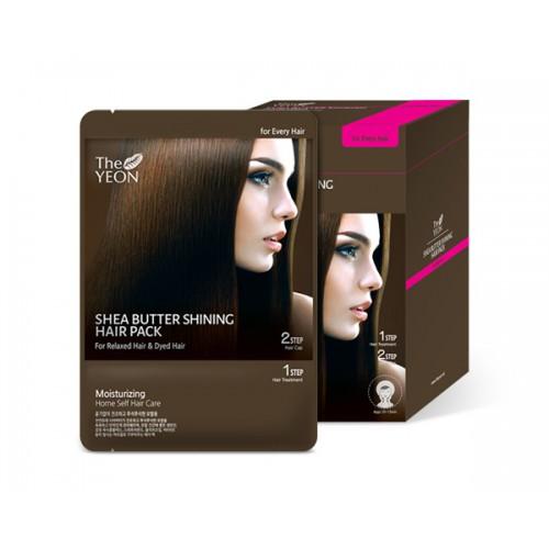 The Yeon Маска для волос с маслом Ши, 12*25гУТ-00000570Маска для волос с маслом ши предназначена для сухих и сильно поврежденных волос. Масло ши интенсивно увлажняет волосы, восстанавливая их структуру. Волосы становятся заметно более эластичными. В состав маски входит также комплекс темных злаков, сладкое миндальное масло, оливковое масло и витамин Е. Все эти компоненты возвращают волосам былую силу, придают сияние и блеск. Масло ши, интенсивно питает и увлажняет волосы, нормализуя гидролипидный баланс кожи головы. А компонент Saengmodan состоит из 11 ингредиентов, которые насыщают кожу и волосы питательными элементами.
