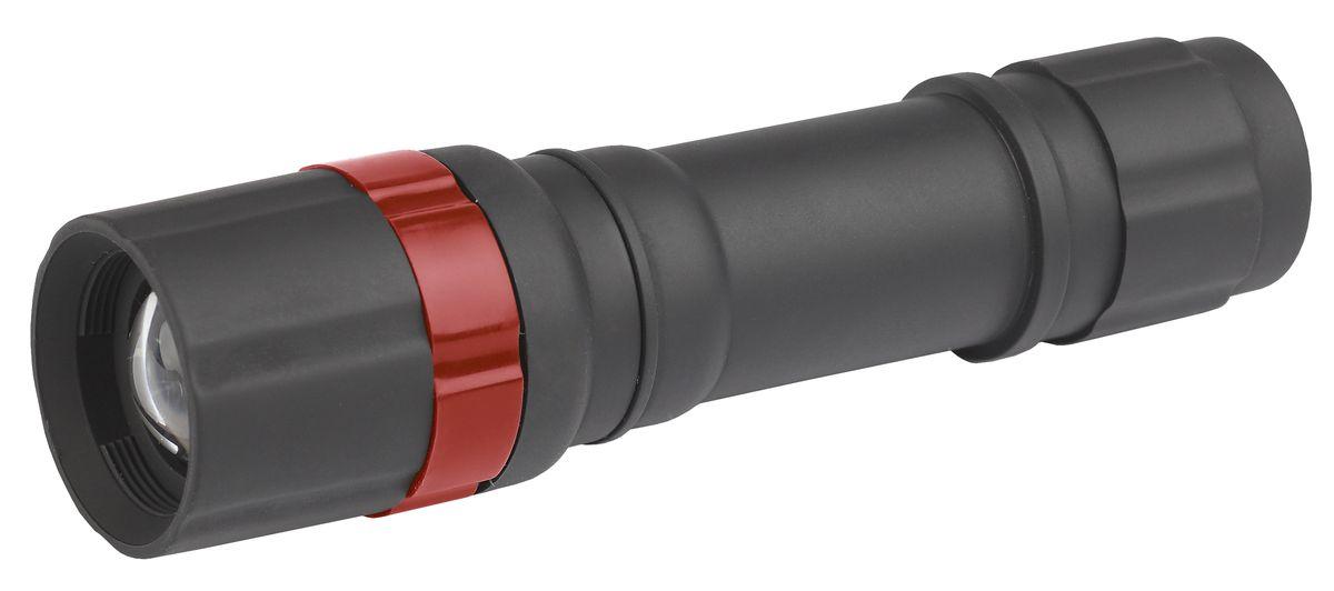 Фонарь ручной ЭРА, 3W LED, с регулируемым корпусомP3WСветодиодный пластиковый фонарь: 3W белый светодиод регулируемый фокус ремешок для запястье 3xAAA (в комплект не входят) УПАКОВКА: двойной запаянный блистер