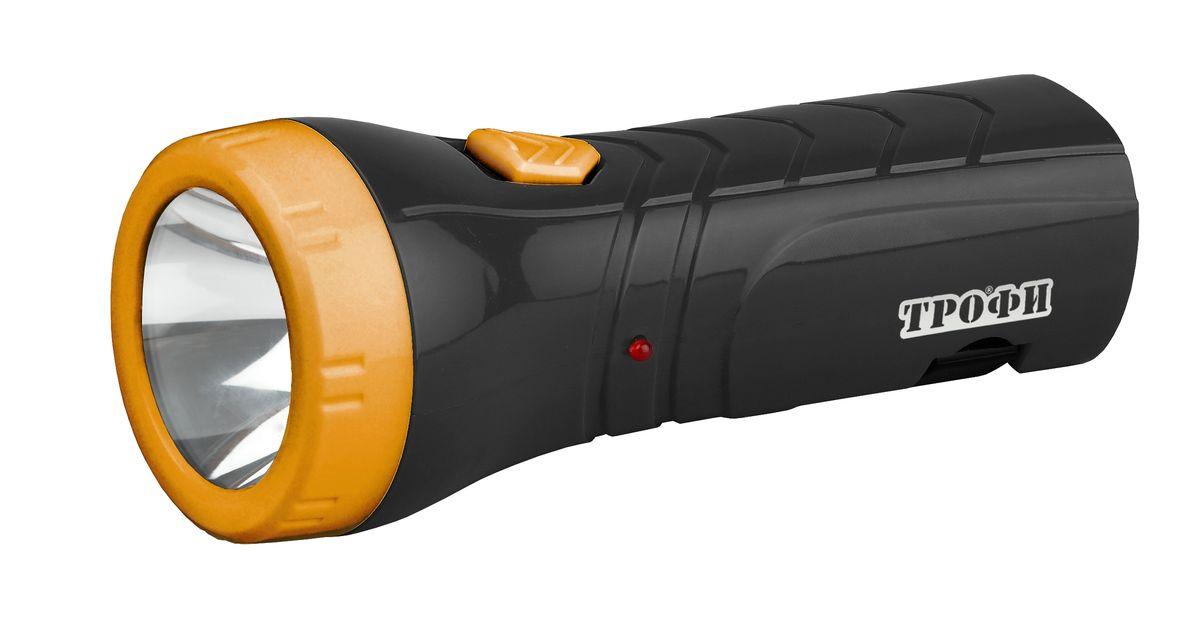 Фонарь ручной Трофи, 4xLED, 4V0.5AhTA1Компактный аккумуляторный светодиодный фонарь: 0.5W светодиод (2 режима работы) аккумулятор 4V 500mAh складная евровилка 6 часов работы без подзарядки упаковка: картонная коробка