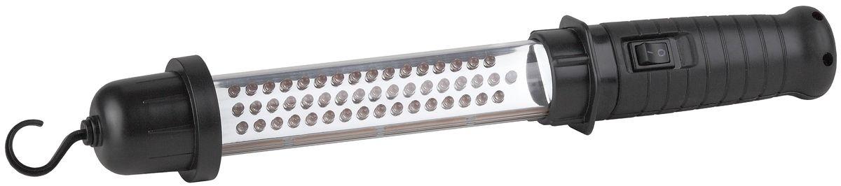 Фонарь автомобильный ЭРА, 48xLED, аккумулятор 4.8V1.2Ah NiMH, ЗУ 220V+12VWLA48Аккумуляторный светодиодный автомобильный фонарь: 48 белых LED обрезиненная рукоятка крюк для подвешивания Ni-MH аккумулятор 1200mA подзарядка И РАБОТА от сети 220V и 12V
