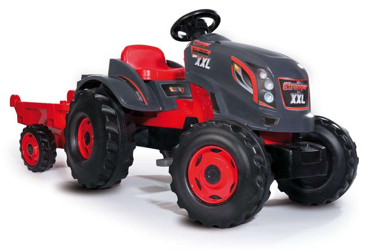 Smoby Трактор педальный Stronger XXL с прицепом