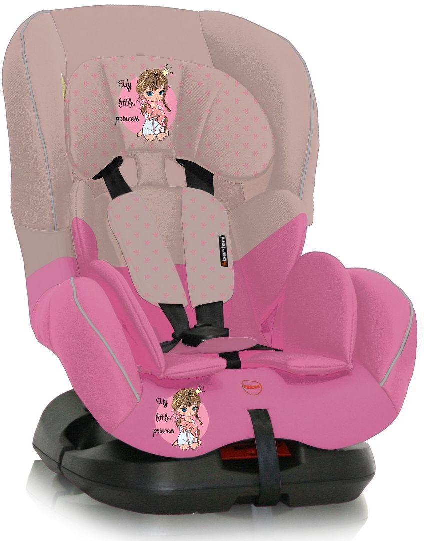 Bertoni Автокресло Concord цвет бежевый розовый от 0 до 18 кг 3800151921837