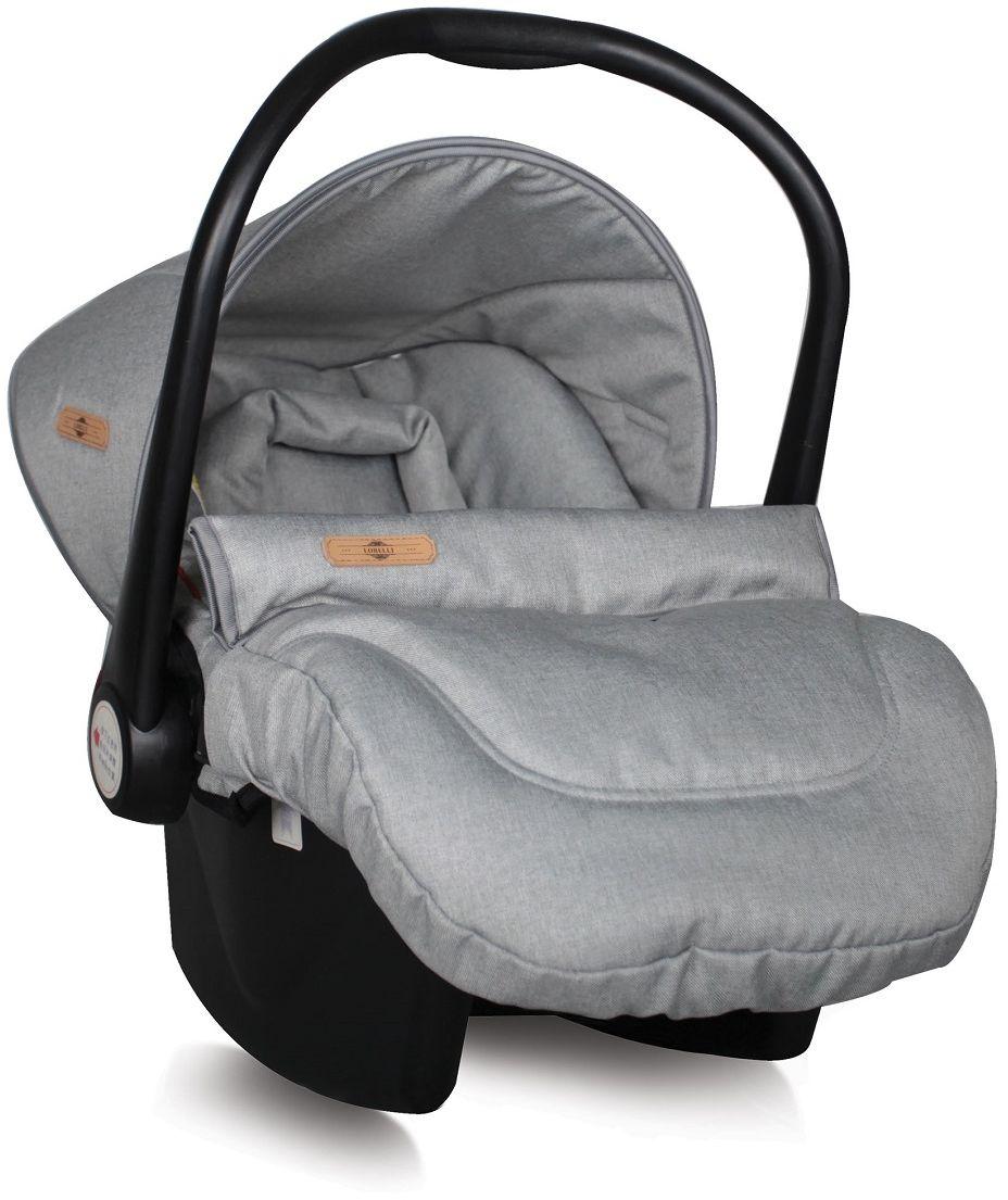 Lorelli Автокресло-переноска Lifesaver цвет серый от 0 до 13 кг3800151924081Автокресло-переноска Lorelli Lafesaver относится к группе 0+ и подходит для детей весом до 13 кг. Автокресло обеспечит безопасность и комфорт малыша во время поездок на автомобиле. Удобная ручка для переноски позволит использовать автокресло в качестве переносной люльки. Положение ручки регулируется. Автокресло оснащено солнцезащитным козырьком и съемным чехлом, благодаря чему его удобно мыть. Накладки на внутренние ремни обеспечат удобство для малыша. Внутренние 5-точечные ремни помогут бережно зафиксировать ребенка, анатомический вкладыш позволит ему принять комфортное положение, а активная защита головы сделает поездки еще более безопасными. Кресло защищено от боковых ударов. Ширина кресла и высота подголовника не регулируется. Для детей весом до 9 кг автокресло устанавливается спиной по ходу движения. В комплект также входит съемный чехол, прикрывающий ножки ребенка.