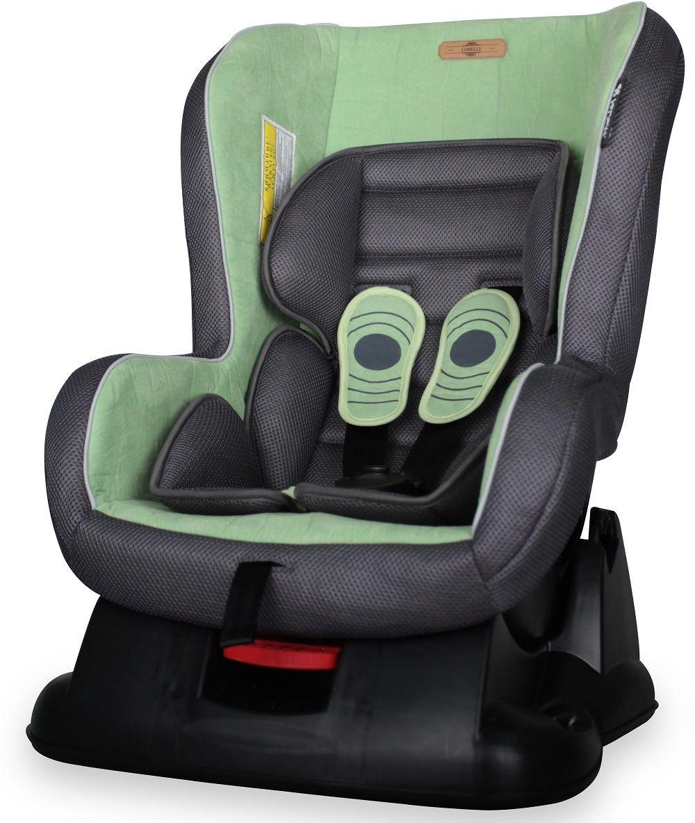 Lorelli Автокресло Grand Prix цвет зеленый от 0 до 18 кг3800151950530Автокресло Lorelli Grand Prix от 0 до 18 кг среднего класса повышенной надежности. Европейский стандарт безопасности ECЕ R44/04. 3 положения угла наклона кресла: сидя, полусидя, полулежа. 5-точечный, регулируемый по высоте ремень безопасности с мягкими накладками. Мягкая вставка из натуральной ткани. Легко съемная моющаяся тканевая часть. Простой монтаж.