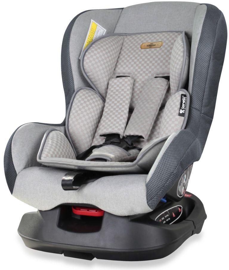 Bertoni Автокресло Saturn цвет серый от 0 до 18 кг3800151919339Автокресло Bertoni Concord от 0 до 18 кг среднего класса повышенной надежности. Европейский стандарт безопасности ECЕ R44/04. 3 положения угла наклона кресла: сидя, полусидя, полулежа. 5-точечный, регулируемый по высоте ремень безопасности с мягкими накладками. Мягкая вставка из натуральной ткани. Легко съемная моющаяся тканевая часть. Простой монтаж.