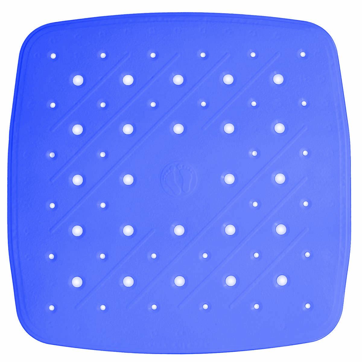 Коврик для ванной Ridder Promo, противоскользящий, на присосках, цвет: синий, 51 х 51 см167913Высококачественный немецкий коврик Ridder Promo создан для вашего удобства. Состав и свойства противоскользящего коврика: - синтетический каучук и ПВХ с защитой от плесени и грибка; - имеются присоски для крепления. Безопасность изделия соответствует стандартам LGA (Германия).