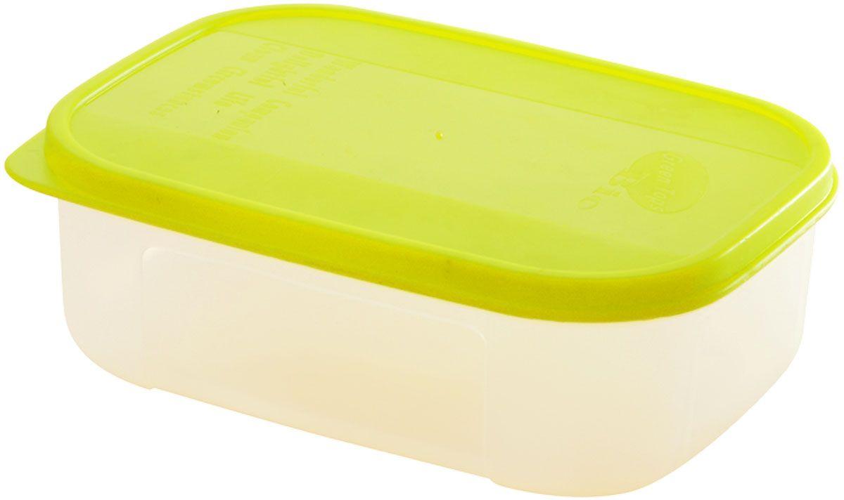 Емкость для продуктов Plastic Centre Bio, цвет: светло-зеленый, прозрачный, 0,6 лVT-1520(SR)Многофункциональная емкость для хранения различных продуктов, разогрева пищи, замораживания ягод и овощей в морозильной камере и т.п. При хранении продуктов в холодильнике емкости можно ставить одну на другую, сохраняя полезную площадь холодильника или морозильной камеры. Широкий ассортимент цветов удовлетворит любой вкус и потребности.