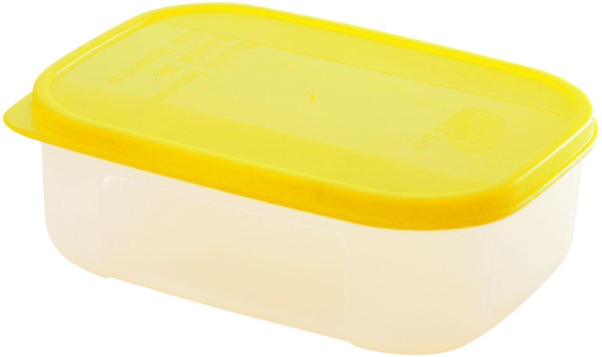 Емкость для продуктов Plastic Centre Bio, цвет: желтый, прозрачный, 0,6 лVT-1520(SR)Многофункциональная емкость для хранения различных продуктов, разогрева пищи, замораживания ягод и овощей в морозильной камере и т.п. При хранении продуктов в холодильнике емкости можно ставить одну на другую, сохраняя полезную площадь холодильника или морозильной камеры. Широкий ассортимент цветов удовлетворит любой вкус и потребности.