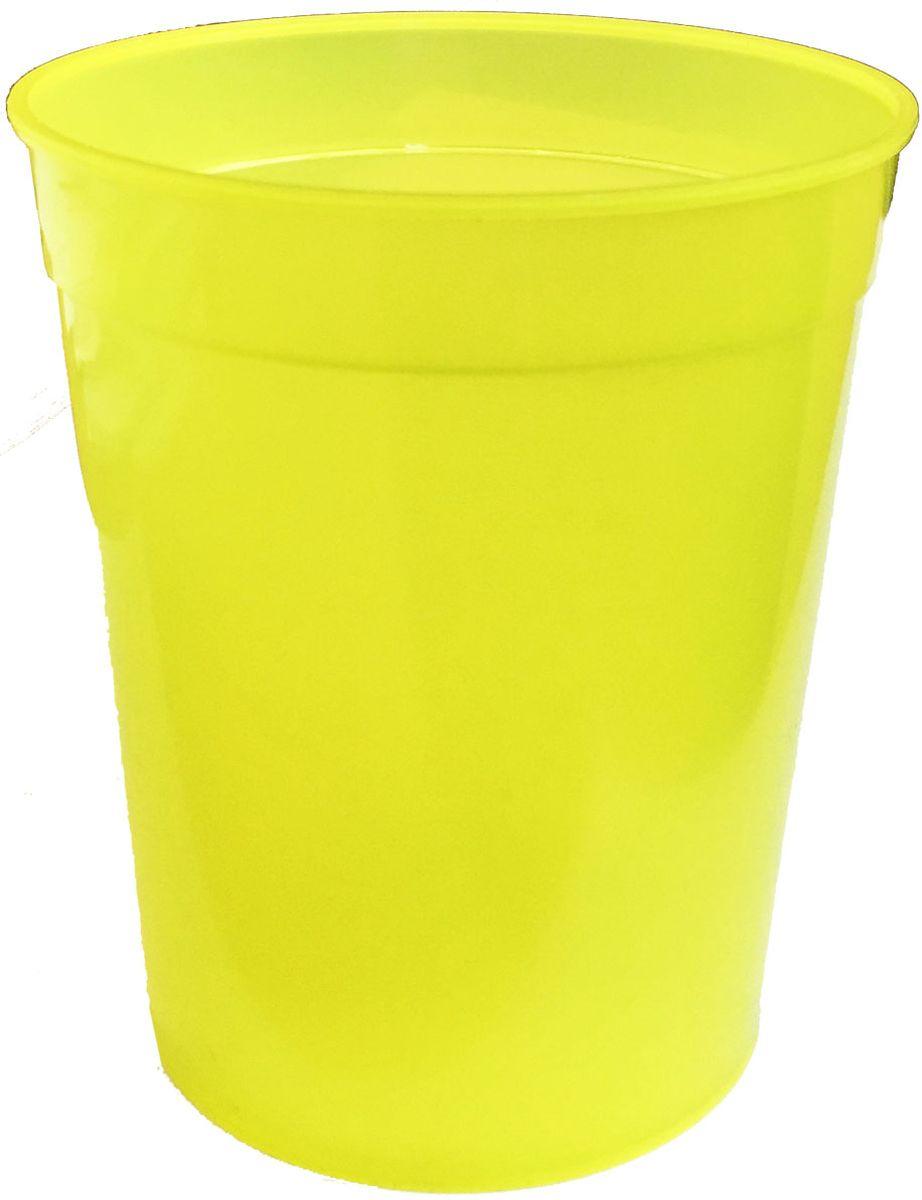 Стакан Plastic Centre, цвет: желтый, 400 млПЦ4050ЛМКлассический устойчивый стакан из прочного пластика для холодных и горячих напитков.