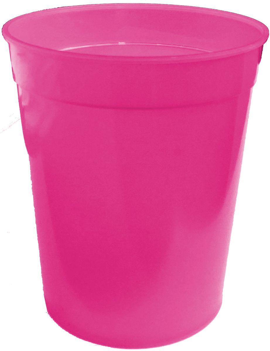 Стакан Plastic Centre, цвет: малиновый, 400 млПЦ4050МЛПРКлассический устойчивый стакан из прочного пластика для холодных и горячих напитков.