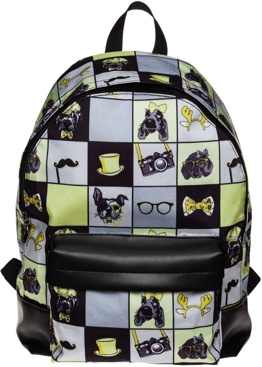 Hatber Рюкзак Basic Young StyleNRk_19054Рюкзак Hatber Basic Young Style - это современный молодежный рюкзак, отличающийся легкостью и вместительностью. Изделие выполнено из полиэстера и оформлено модным принтом. Рюкзак имеет одно основное отделение на застежке-молнии. Внутри расположен карман для тетрадей, на лицевой стороне - накладной карман на молнии. Текстильная ручка обеспечивает возможность переноски рюкзака в одной руке. Уплотненные спинка и лямки гарантируют комфорт при любых обстоятельствах. Усиленное основание повышает износостойкость дна рюкзака.