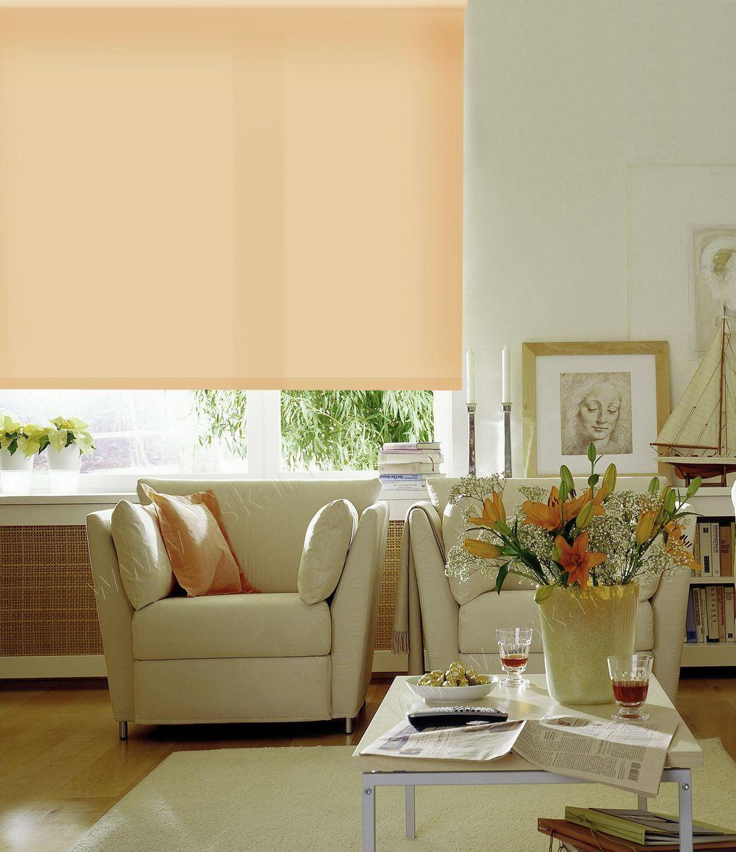 Штора рулонная Эскар, цвет: светло-абрикосовый, ширина 150 см, высота 170 см10503Рулонными шторами можно оформлять окна как самостоятельно, так и использовать в комбинации с портьерами. Это поможет предотвратить выгорание дорогой ткани на солнце и соединит функционал рулонных с красотой навесных.Преимущества применения рулонных штор для пластиковых окон:- имеют прекрасный внешний вид: многообразие и фактурность материала изделия отлично смотрятся в любом интерьере; - многофункциональны: есть возможность подобрать шторы способные эффективно защитить комнату от солнца, при этом о на не будет слишком темной. - Есть возможность осуществить быстрый монтаж. ВНИМАНИЕ! Размеры ширины изделия указаны по ширине ткани!Во время эксплуатации не рекомендуется полностью разматывать рулон, чтобы не оторвать ткань от намоточного вала.В случае загрязнения поверхности ткани, чистку шторы проводят одним из способов, в зависимости от типа загрязнения: легкое поверхностное загрязнение можно удалить при помощи канцелярского ластика; чистка от пыли производится сухим методом при помощи пылесоса с мягкой щеткой-насадкой; для удаления пятна используйте мягкую губку с пенообразующим неагрессивным моющим средством или пятновыводитель на натуральной основе (нельзя применять растворители).