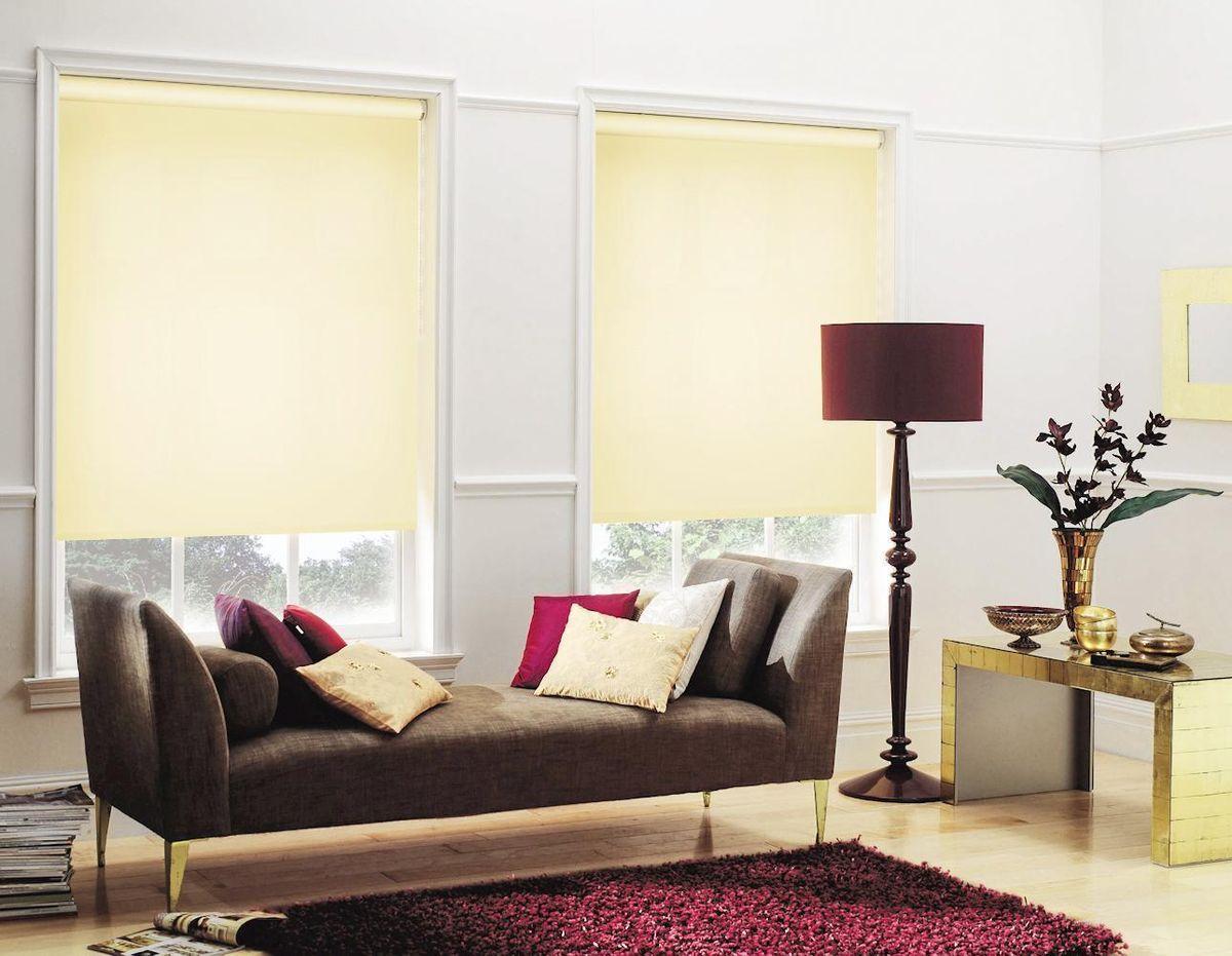 Штора рулонная Эскар, цвет: светлый лимон, ширина 140 см, высота 170 смZ-0307Рулонными шторами можно оформлять окна как самостоятельно, так и использовать в комбинации с портьерами. Это поможет предотвратить выгорание дорогой ткани на солнце и соединит функционал рулонных с красотой навесных.Преимущества применения рулонных штор для пластиковых окон:- имеют прекрасный внешний вид: многообразие и фактурность материала изделия отлично смотрятся в любом интерьере; - многофункциональны: есть возможность подобрать шторы способные эффективно защитить комнату от солнца, при этом о на не будет слишком темной. - Есть возможность осуществить быстрый монтаж. ВНИМАНИЕ! Размеры ширины изделия указаны по ширине ткани!Во время эксплуатации не рекомендуется полностью разматывать рулон, чтобы не оторвать ткань от намоточного вала.В случае загрязнения поверхности ткани, чистку шторы проводят одним из способов, в зависимости от типа загрязнения: легкое поверхностное загрязнение можно удалить при помощи канцелярского ластика; чистка от пыли производится сухим методом при помощи пылесоса с мягкой щеткой-насадкой; для удаления пятна используйте мягкую губку с пенообразующим неагрессивным моющим средством или пятновыводитель на натуральной основе (нельзя применять растворители).