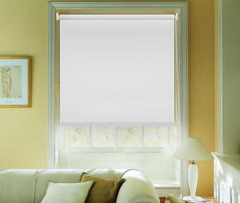 Штора рулонная Эскар Blackout, светоотражающая, цвет: белый, ширина 120 см, высота 170 смZ-0307Рулонными шторами можно оформлять окна как самостоятельно, так и использовать в комбинации с портьерами. Это поможет предотвратить выгорание дорогой ткани на солнце и соединит функционал рулонных с красотой навесных.Преимущества применения рулонных штор для пластиковых окон:- имеют прекрасный внешний вид: многообразие и фактурность материала изделия отлично смотрятся в любом интерьере; - многофункциональны: есть возможность подобрать шторы способные эффективно защитить комнату от солнца, при этом она не будет слишком темной.- Есть возможность осуществить быстрый монтаж.ВНИМАНИЕ! Размеры ширины изделия указаны по ширине ткани!Во время эксплуатации не рекомендуется полностью разматывать рулон, чтобы не оторвать ткань от намоточного вала.В случае загрязнения поверхности ткани, чистку шторы проводят одним из способов, в зависимости от типа загрязнения: легкое поверхностное загрязнение можно удалить при помощи канцелярского ластика; чистка от пыли производится сухим методом при помощи пылесоса с мягкой щеткой-насадкой; для удаления пятна используйте мягкую губку с пенообразующим неагрессивным моющим средством или пятновыводитель на натуральной основе (нельзя применять растворители).