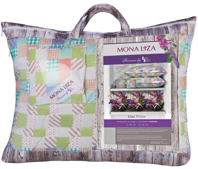 Подушка Mona Liza Provence аромат Lilac, 70 х 70 см549921/2К каждой подушке и одеялу идет саше. Аромат лаванды, розы, жасмина и сирени непременно окутает комнату легким шлейфом нежнейшего парфюма. Не откажите себе в удовольствие и создайте уникальный интерьер с коллекцией PROVENCE!