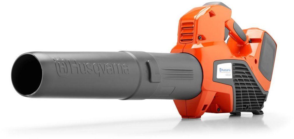 Аккумуляторный воздуходув Husqvarna 436LiB9672524-02Легкий, простой в использовании и тихий аккумуляторный воздуходув. Мгновенный запуск, круиз-контроль и режим повышенной мощности. Особенности: Бесщёточный двигатель BLDC - эффективность Эргономичная ручка - комфорт при работе Литий-ионный аккумулятор 36В подходит ко всем портативным аккумуляторным инструментам Husqvarna Время работы в режиме savЕ до 26 минут Экологичность