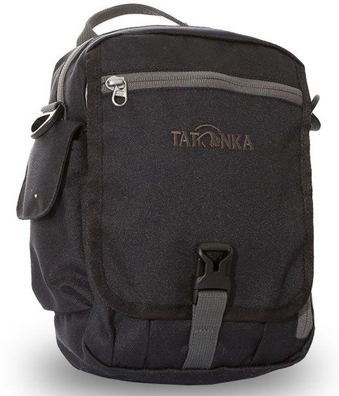 Сумка на плечо Tatonka Check in Clip, цвет: черный, 23 x 17 x 8 см95735-924Вместительная дорожная сумка Tatonka Check in Clip, выполненная из водоотталкивающей ткани, подходит для хранения документов и полезных мелочей в путешествии. Такую сумку можно носить как на плече, так и на поясе. Изделие располагает большим основным отделением с двумя молниями, множеством кармашков и мини-органайзером. Крышка-клапан фиксируется фастексом. Особенности:- петли для переноски на поясе;- съемный плечевой ремень; - ручка для переноски; - органайзер; - множество продуманных отделений; - боковой карман для телефона. - фирменный логотип. - водоотталкивающая ткань и прочные молнии.