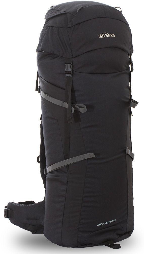 Рюкзак туристический Tatonka Rockland, цвет: черный, 105 лa026124Классический туристический рюкзак Tatonka Rockland выполнен в строгом дизайне из прочной ткани Textreme 6.6. Два просторных отделения позволит с удобством разместить все необходимые в походе или путешествии вещи. За счет объемной крышки и расширяющегося основного отделения объем рюкзака достигает 105 литров. Прочная удобная спинка рюкзака выполнена с учетом анатомических особенностей спины человека, благодаря этому с рюкзаком будет комфортно идти даже в продолжительном походе. Особенности: - Система подвески Y1. - Одно основное отделение, увеличивающееся в верхней части. - Объемная крышка рюкзака с крючком для ключей.- 4 петли на крышке. - Крышка рюкзака регулируется по высоте (до 25 см выше стандартного положения). - Затяжка внутреннего отделения на один или два шнура, в зависимости от объема заполнения. - 4 боковые затяжки позволяют регулировать объем.- Петли для крепления трекинговых палок. - Два боковых просторных кармана. - Широкий плотный набедренный пояс с двумя параметрами регулировки (по ширине и степени прилегания к рюкзаку).- Спинка рюкзака выполнена с учетом анатомических особенностей спины человека. - Сетчатые элементы в спине и набедренном поясе обеспечивают вентиляцию в жаркую погоду. - Регулируемый по ширине и высоте нагрудный ремень. - В нагрудный ремень вшита резинка для комфорта движения.- Прочная ручка для переноски и помощи при надевании рюкзака. - Молнии YKK.