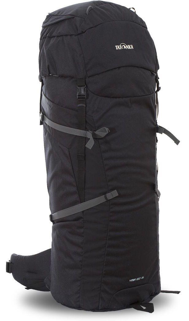 Рюкзак туристический Tatonka Ymir 100+15л, цвет: черный, 100x40x32 смDI.6062.040Туристический рюкзак большого объема. Универсальный рюкзак Ymir 100+15 выполенен в строгом дизайне из прочной ткани Textreme 6.6. Одно просторное отделение позволит с удобством разместить все необходимые в походе или путешествии вещи. За счет объемной крышки и расширяющегося основного отделения объем рюкзака достигает 115 литров. Прочная удобная спина рюкзака выполнена с учетом анатомических особенностей спины человека, благодаря этому с рюкзаком будет комфортно идти даже в продолжительном походе. Преимущества и особенности: Система подвески Y1 Одно основное отделение, увеличивающееся в верхней части Объемная крышка рюкзака с крючком для ключей 4 петли на крышке Крышка рюкзака регулируется по высоте (до 25 см выше стандартного положения) Затяжка внутреннего отделения на один или два шнура, в зависимости от объема заполнения 4 боковые затяжки позволяют регулировать объем Петли для крепления треккинговых палок Два боковых просторных...