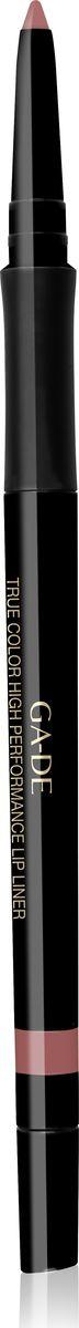Ga-de Карандаш для губ True Color № 01, 0,35 гр5010777142037Водостойкий контурный карандаш для губ. Мягкая кремовая текстура предотвращает смазывание и растекание помады в течении дня. Не меняет свой цвет и не тускнеет, подчеркивает естественную форму губ. Формула, обогащенная комплексом керамидов и гиалуроновой кислотой обеспечивает чувственный уход занежной кожей губ. Не требует затачивания.
