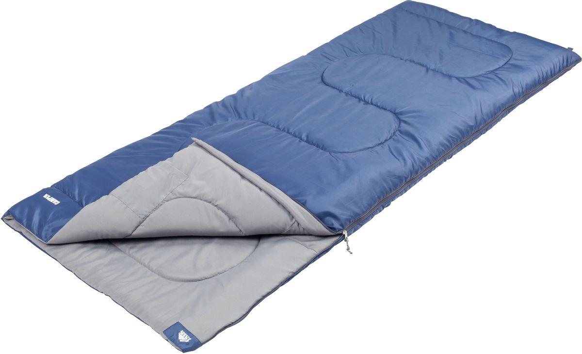 Спальный мешок Trek Planet Camper, цвет: синий, левосторонняя молния0-70-648Комфортный, легкий и очень удобный в использовании, спальник-одеяло Trek Planet Camper предназначен для походов преимущественно в летний период. Этот спальник пригодится вам во время поездки на пикник, на дачу, во время туристического похода. К его несомненным достоинствам можно отнести то, что в остальное время его можно использовать как одеяло для гостей.ОСОБЕННОСТИ СПАЛЬНИКА:- Термоклапан вдоль молнии,- Молния с левой стороны,- Внутренний карман,- Небольшой вес,- К спальнику прилагается чехол для удобного хранения и переноски. ХАРАКТЕРИСТИКИ:Цвет: синийt° комфорт: 14°Ct° лимит комфорт: 9°Ct° экстрим: 0°C.Внешний материал: 100% полиэстер Внутренний материал: 100% полиэстерУтеплитель: Hollow Fiber 1x200 г/м2.Размер: 190 см х 80 см.Размер в чехле: 20 см х 20 см х 38 см.Вес: 1,05 кг.Производитель: Китай.Артикул: 70324-L.