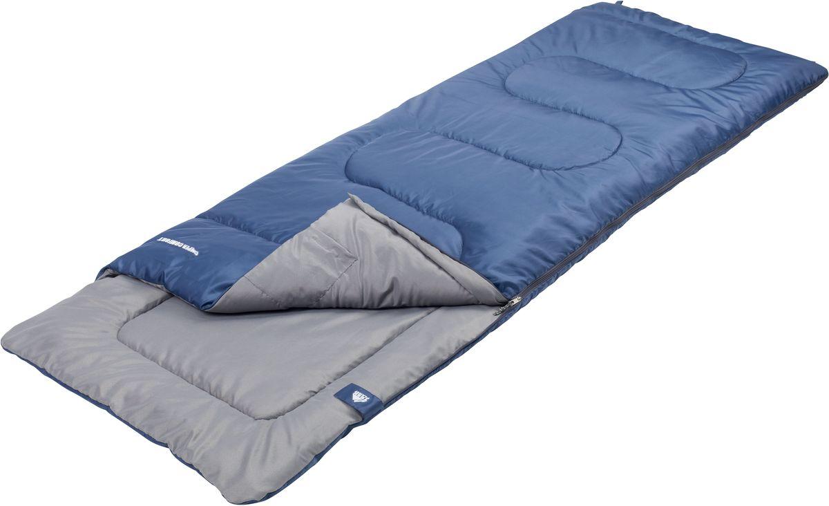 Спальный мешок Trek Planet Camper Comfort, цвет: синий, левосторонняя молния70326-LКомфортный, легкий и очень удобный в использовании, спальник-одеяло с подголовником Trek Planet Camper Comfort предназначен для походов преимущественно в летний период. Этот спальник пригодится вам во время поездки на пикник, на дачу, во время туристического похода. ОСОБЕННОСТИ СПАЛЬНИКА: - Удобный плоский подголовник, - Термоклапан вдоль молнии, - Молния с левой стороны, - Внутренний карман, - Небольшой вес, - К спальнику прилагается чехол для удобного хранения и переноски. ХАРАКТЕРИСТИКИ: Цвет: синий t° комфорт: 14°C t° лимит комфорт: 9°C t° экстрим: 0°C. Внешний материал: 100% полиэстер Внутренний материал: 100% полиэстер Утеплитель: Hollow Fiber 1x200 г/м2. Размер: (190+30) см х 80 см. Размер в чехле: 22 см х 22 см х 38 см. Вес: 1,15 кг. Производитель: Китай. Артикул: 70326-L.