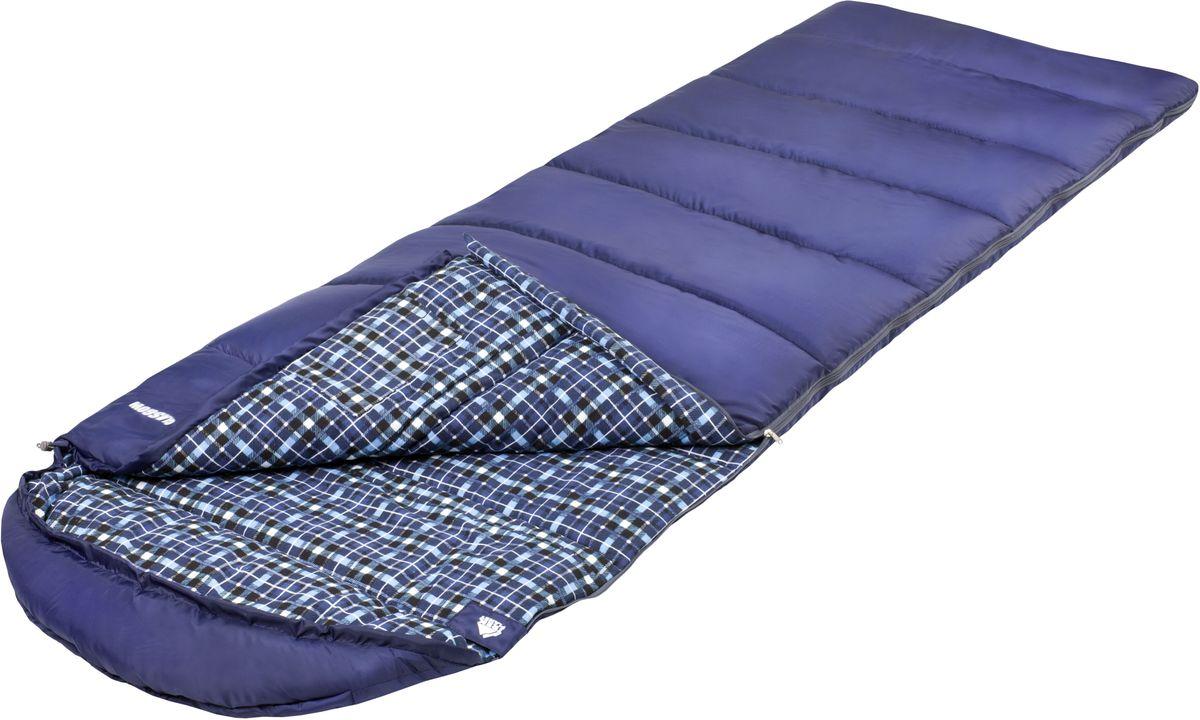 Спальный мешок Trek Planet Glasgow, цвет: синий, левосторонняя молнияс58836Очень комфортный, легкий и уютный спальник-одеяло с капюшоном Trek Planet Glasgow Отличительная особенность этого спальника: он чрезвычайно приятен в использовании, во многом, за счет мягкой внутренней фланели. Большой и уютный капюшон обеспечивает повышеный комфорт и тепло в холодную погоду. Спальник предназначен для походов преимущественно в летний период.ОСОБЕННОСТИ СПАЛЬНИКА:- Теплый глубокий капюшон с затягивающейся шнуровкой по периметру,- Внутренний материал: мягкая фланель,- Дополнительная плечевая затягивающаяся шнуровка,- Термоклапан вдоль молнии,- Молния с левой стороны,- Внутренний карман,- Небольшой вес,- К спальнику прилагается чехол для удобного хранения и переноски. ХАРАКТЕРИСТИКИ:Цвет: синийt° комфорт: 8°Ct° лимит комфорта: 4°Ct° экстрим: -6°C.Внешний материал: 100% полиэстерВнутренний материал: 100% полиэстерУтеплитель: Hollow Fiber 1x300 г/м2.Размер: (200+30) см х 80 см.Размер в чехле: 21 см х 21 см х 36 см.Вес: 1,5 кг.Производитель: Китай.Артикул: 70331-L.