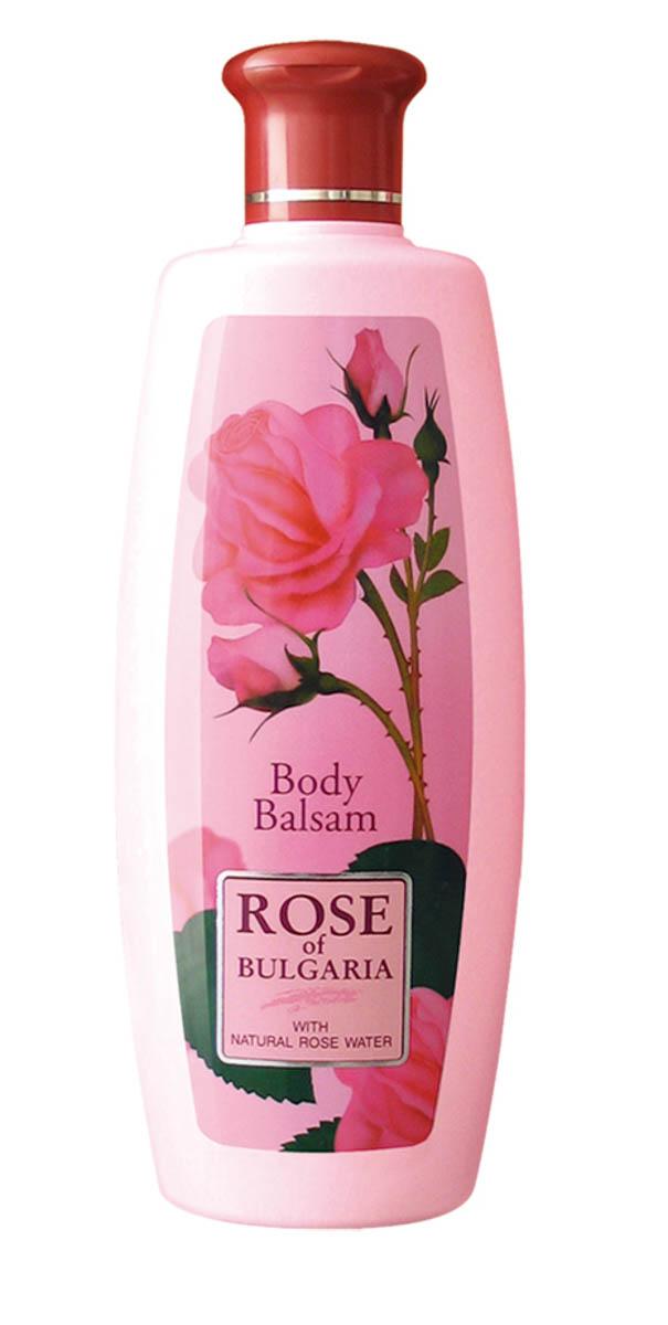 """Rose of Bulgaria Лосьон для тела, 330 мл62590Изысканная нежность и мягкость кожи надолго! Лосьон для тела """"Rose of Bulgaria"""" имеет легкую текстуру и нежный приятный аромат, быстро впитывается и не оставляет следов на одежде. Прекрасно увлажняет и смягчает кожу, обеспечивает необходимое питание, восстанавливает защитные свойства кожи. Надолго возвращает ощущение комфорта. Формула лосьона содержит уникальную розовую воду с большим содержанием эфирного розового масла, витамин Е и экстракт розмарина. После применения лосьона кожа становится гладкой, нежной и бархатистой. Уникальная натуральная композиция включает в себя розовую воду с большим содержанием эфирного розового масла, витамин Е и экстракт розмарина. Формула создана специально для заботы о коже, ежедневно подвергающейся агрессивному воздействию окружающей среды. Восстанавливает клеточный метаболизм. Прекрасно впитывается. Поддерживает необходимый водно-жировой баланс, обладает противовоспалительным и антиаллергическим действием, оказывает успокаивающее воздействие на..."""