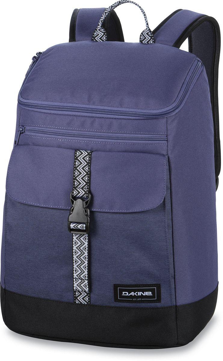 Рюкзак женский Dakine Nora Seashore, цвет: сиреневый, 25 л. 821002200127220 8210022Городской женский рюкзак с отделением для ноутбука ( до 15) внутренний карман для iPad. Внешний карман на застежке.