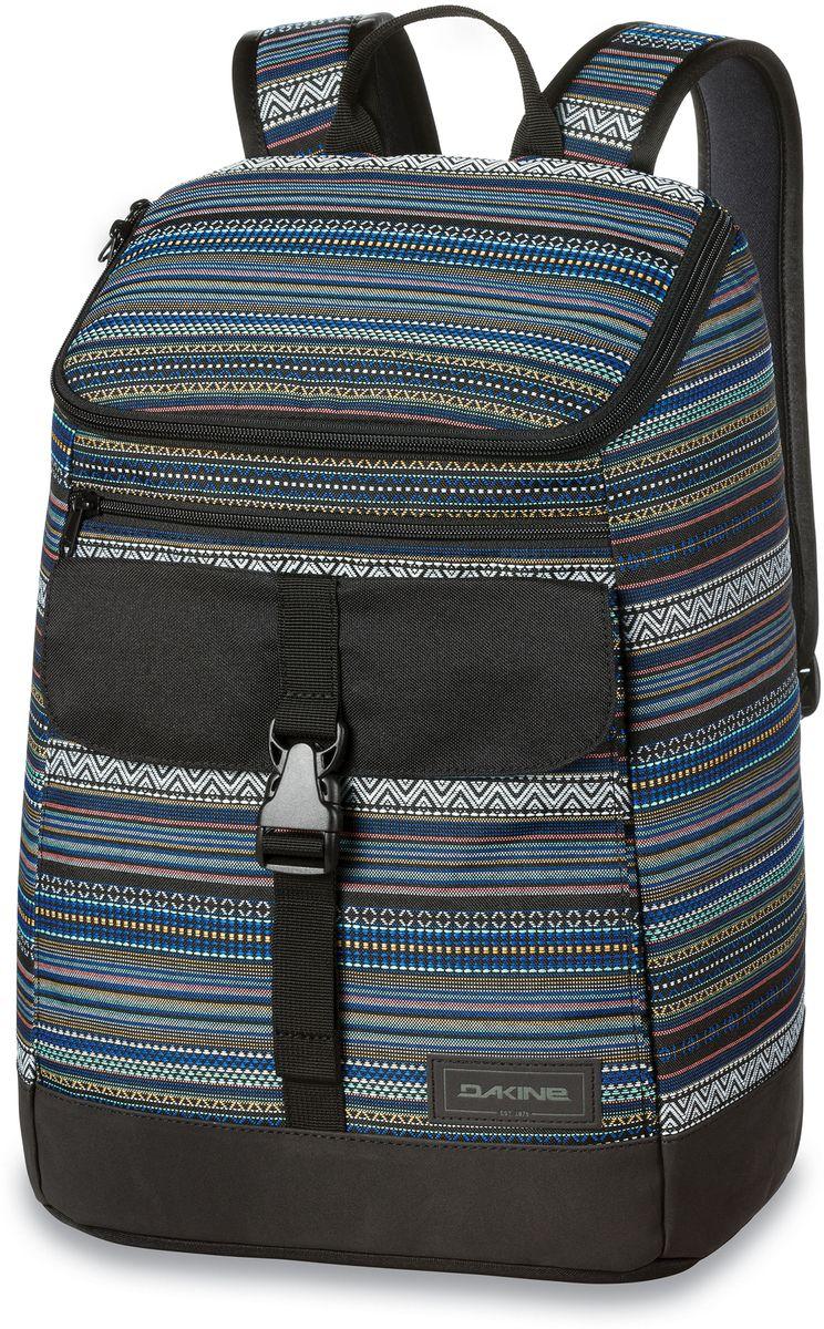 Рюкзак женский Dakine Nora Cortez, цвет: мультиколор, 25 л. 821002200127218 8210022Городской женский рюкзак с отделением для ноутбука ( до 15) внутренний карман для iPad. Внешний карман на застежке.