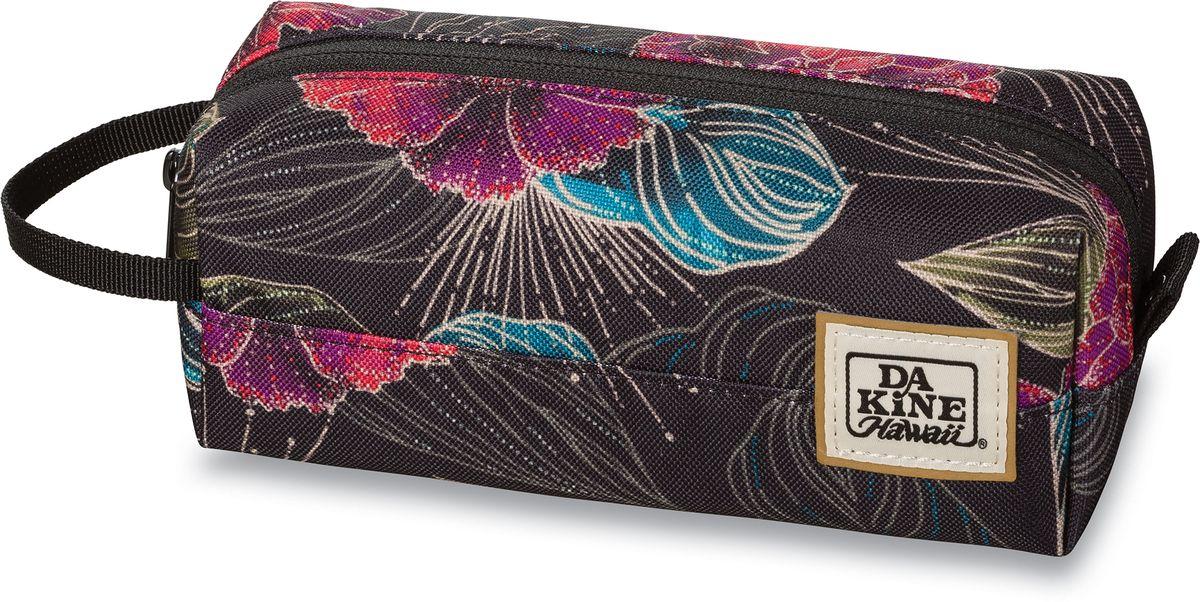 Сумка для аксессуаров женская Dakine Accessory Case Pualani, цвет: мультиколор, 0,3 л. 826000500127382 8260005Однообъемный тонкий чехол на молнии. Можно использовать в качестве пенала, косметички, сумочки для проводов…