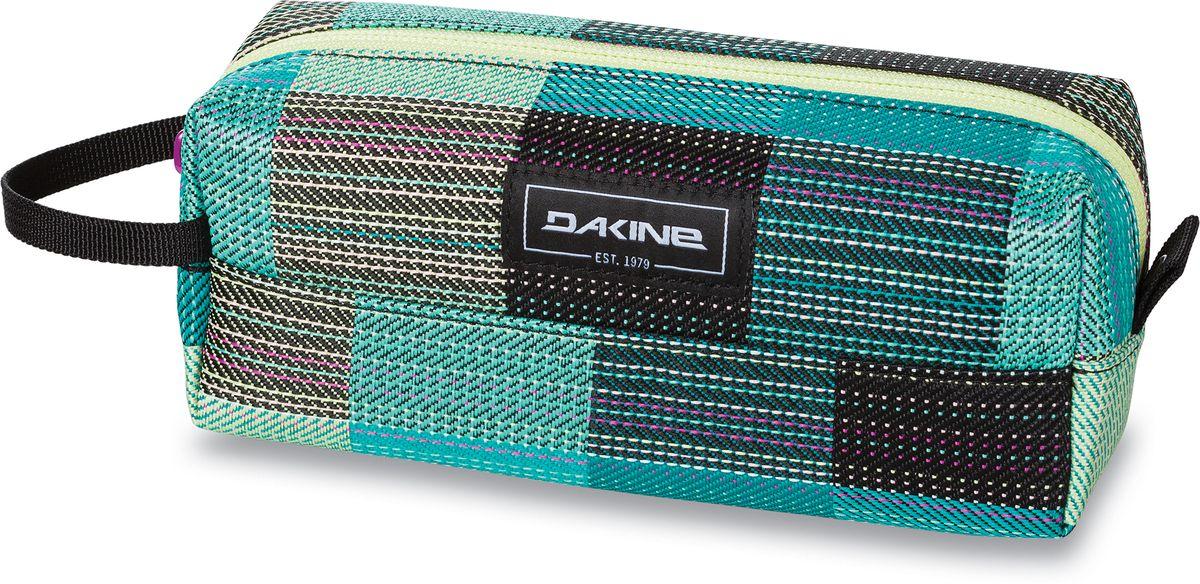 Сумка для аксессуаров женская Dakine Accessory Case Luisa, цвет: светло-зеленый, 0,3 л. 826000500127380 8260005Однообъемный тонкий чехол на молнии. Можно использовать в качестве пенала, косметички, сумочки для проводов…