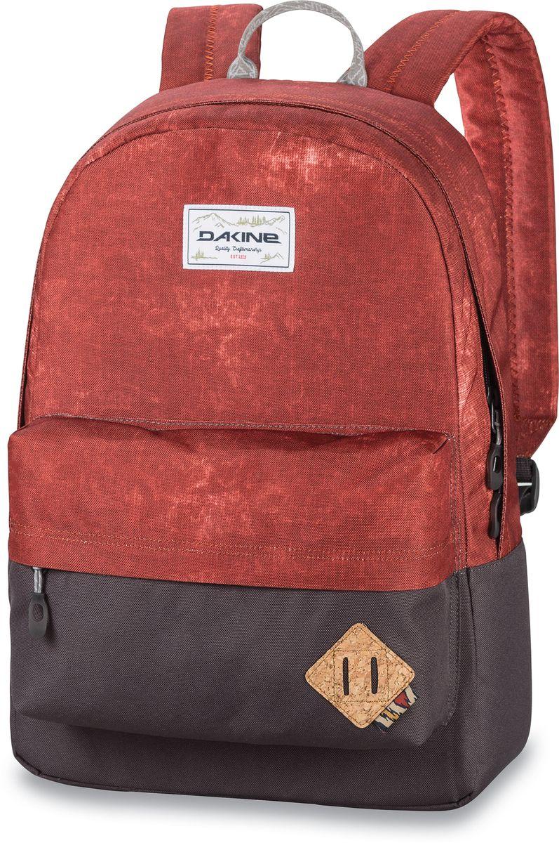 Рюкзак городской Dakine 365 Pack Moab, цвет: красный, 21 л. 813008500127061 8130085Городской рюкзак. Однообъемный. С карманом для ноутбука ( до 15) и внешним карманом.