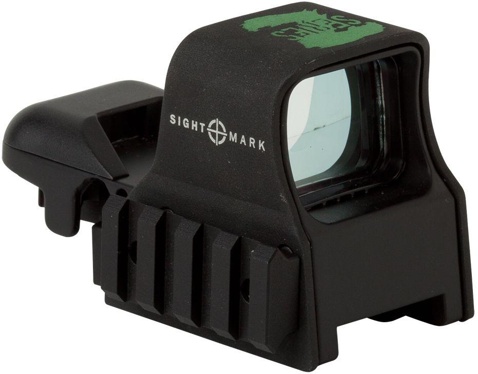 """Прицел коллиматорный """"Sightmark"""", панорамный на Weaver/Picatinny, со сменной маркой. SM13005Z"""