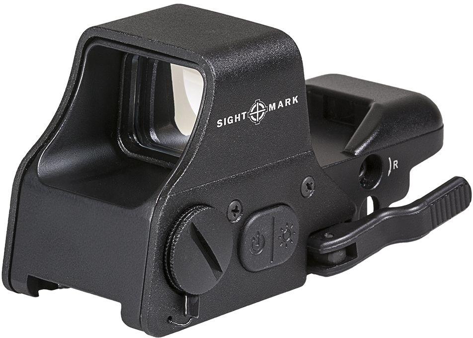 """Прицел коллиматорный """"Sightmark"""", панорамный на Weaver/Picatinny, со сменной маркой. SM26008"""