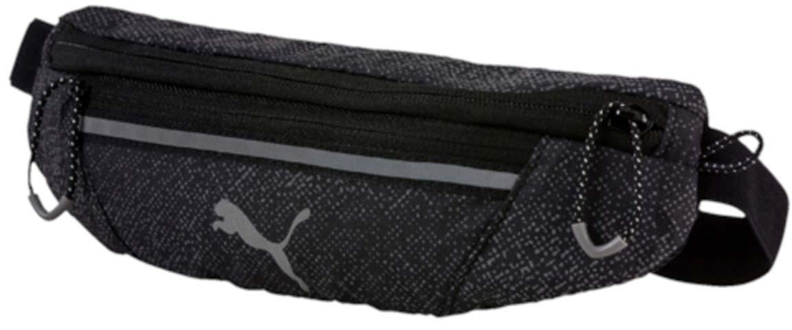 Сумка на пояс Puma Pr Classic Waist Bag, цвет: серый. 0744370507443705Спортивная сумка Puma Pr Classic Waist Bag выполнена из прочного текстиля. У модели одно отделение, застежка и внешний карман на молнии, один карман на липучке.