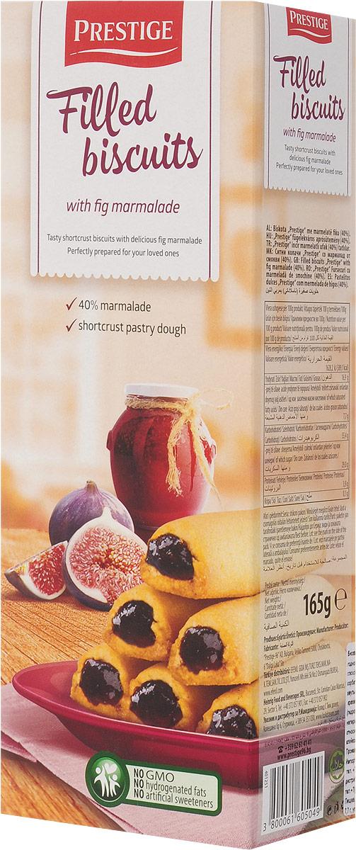 Prestige Бисквитное печенье с начинкой из инжира, 165 г 3.58.10