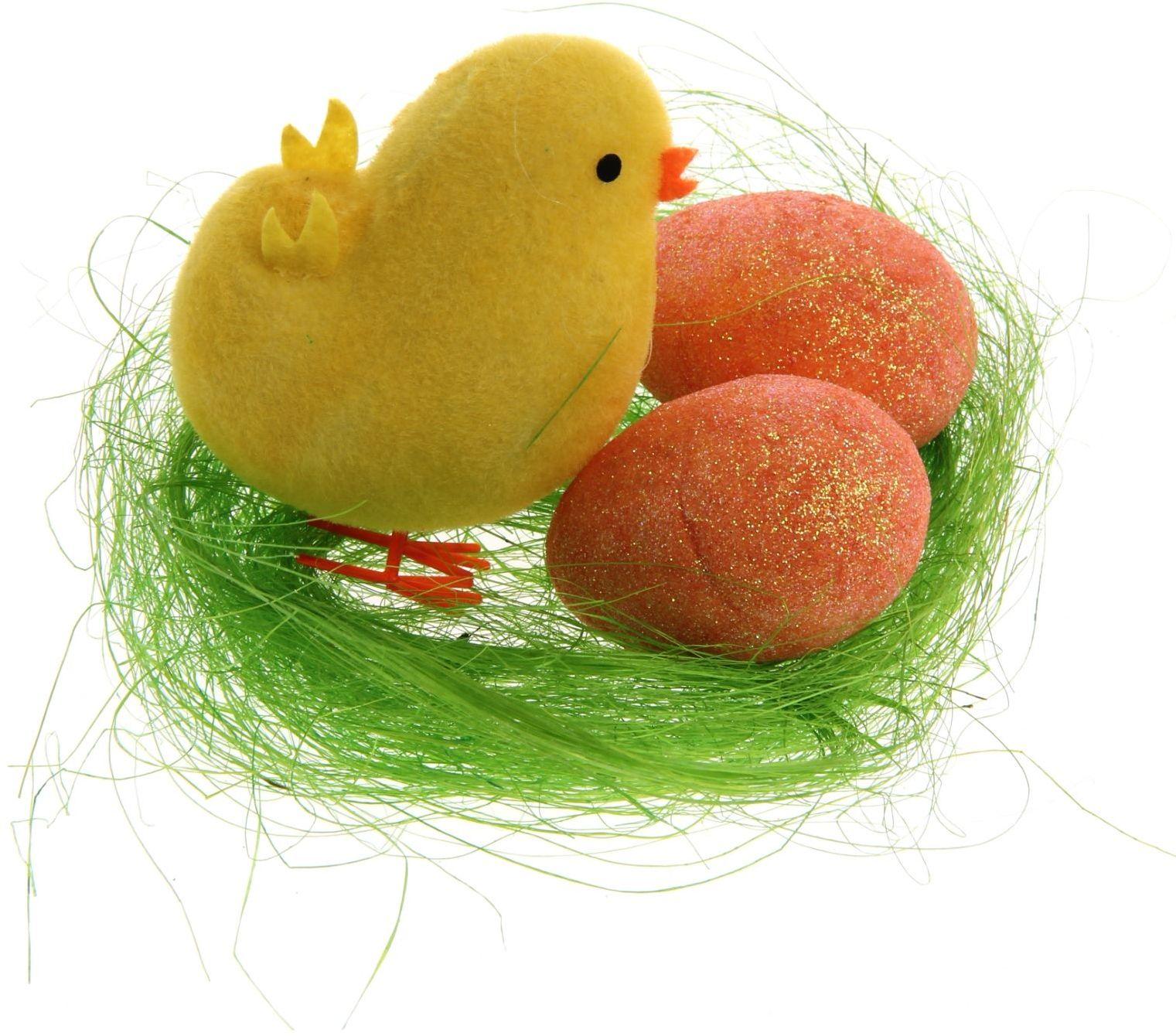 Сувенир пасхальный Sima-land Цыплёнок на травке, 6 х 6 х 10 смUP210DFДарить подарки на Пасху – это такая же традиция, как красить яйца и выпекать куличи. Презенты вдвойне приятнее, если они несут в себе сакральный смысл и имеют какое-то значение.Сувенир Цыплёнок на травке, цвета МИКС - это символ возрождения и непрерывности жизни. С его помощью вы сможете украсить жилище, преподнести его близкому человеку или использовать при сервировке стола всю пасхальную неделю. Кроме того, пасхальные цыплята нравятся маленьким деткам.