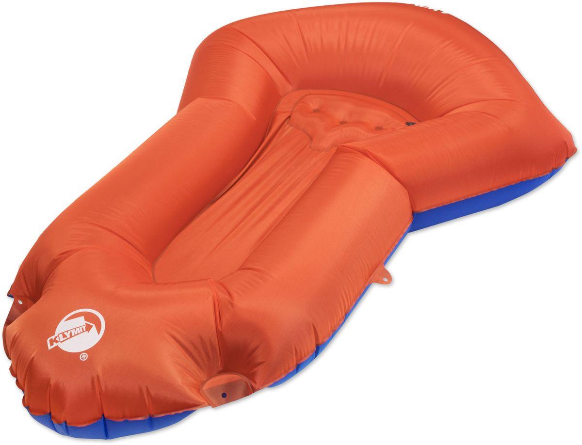 Лодка надувная Klymit Dinghy, цвет: оранжевый, максимальная нагрузка: 159 кг14LDB101CОдноместная, без весел, с 2 помпами. Для отдыха на воде и небольших водоемах (класс 2). Объем – 18 литров; Вес – 992 гр; Материал –210D полиэстер Нагрузка – 159 кг Цвет - оранжево-синий Размер – 203 х 114 см, в сложенном виде - 11,43 х 22,9 см. В комплекте насос и упаковочная сумка Пожизненная гарантия.