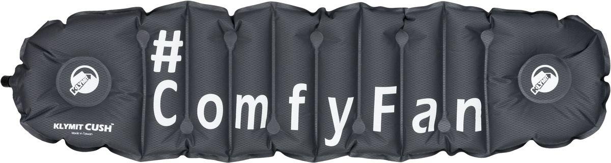 Надувная подушка/сиденье Klymit Cush ComfyFan, цвет: черный