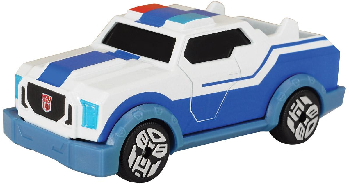 Transformers Robots in Disguise Машинка Strongarm с 3D карточкой цвет синий белый 3111001_синий, белый