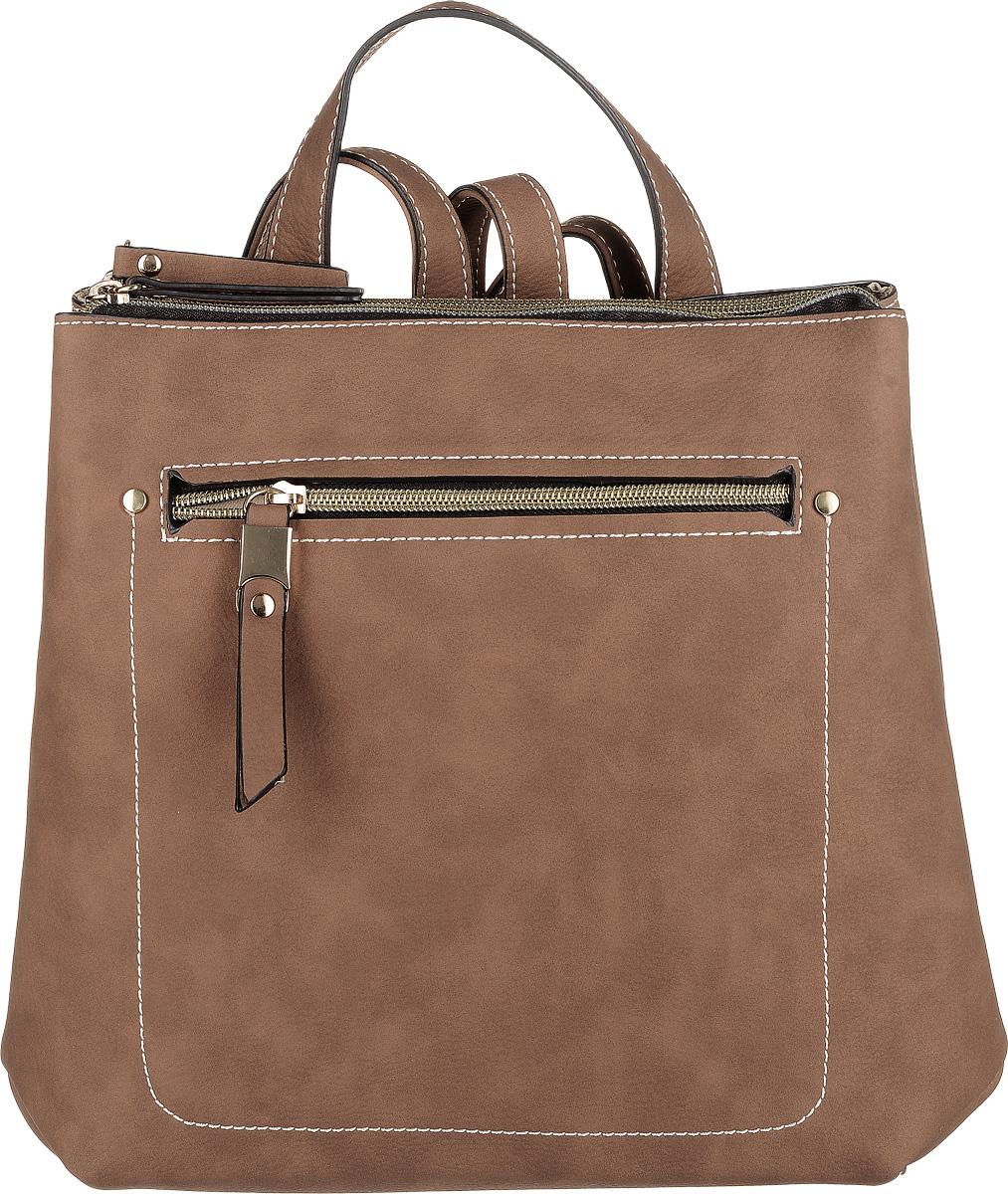 Рюкзак женский Jane Shilton, цвет: светло-коричневый. 2291 2291lt_tan