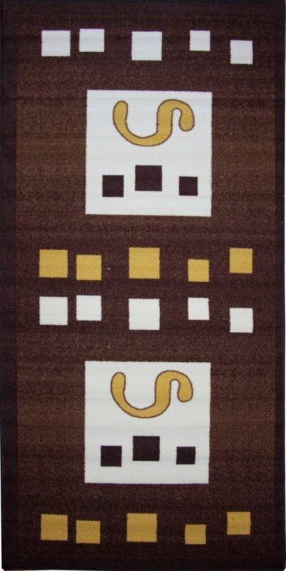 Ковер МАС Розетта. Квадраты, 100 х 200 см15937/квадратыВлагонепроницаемый коврик на резиновой основе подойдет для любого интерьера в гостиной, ванной или прихожей. Легко моется и чистится.