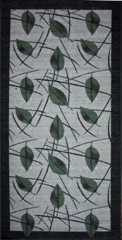 Ковер МАС Розетта. Зеленые листья, 100 х 200 см15937/зеленые листьяВлагонепроницаемый коврик на резиновой основе подойдет для любого интерьера в гостиной, ванной или прихожей. Легко моется и чистится.